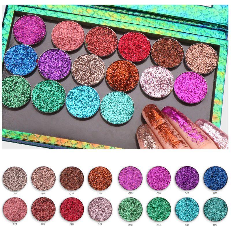3.51AUD 16Mixed Color Glitter Shinny Powder Makeup