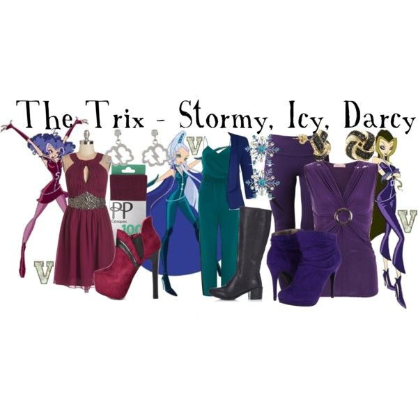 The Trix , Stormy Icy Darcy (Winx Club) Sc 1 St Pinterest