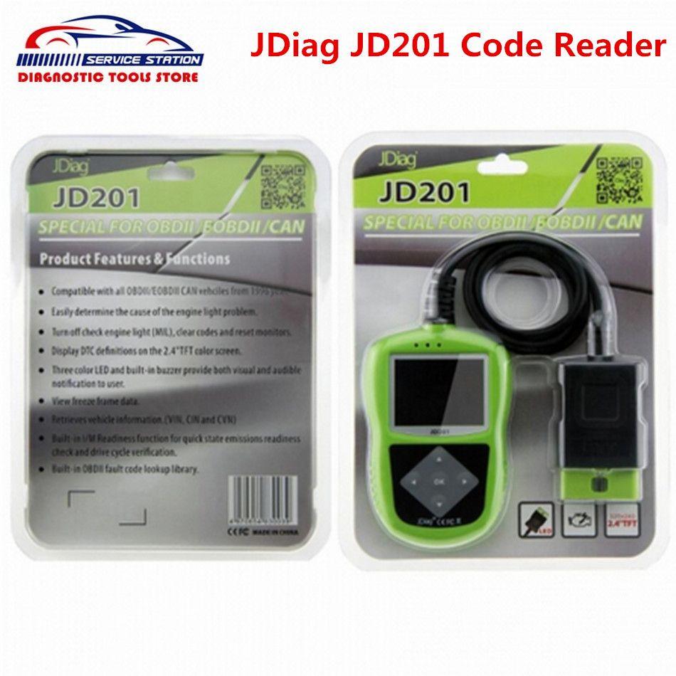 Original JDiag JD201 Code Reader Super Function Same As