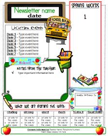 ginger snaps newsletter template classroom ideas classroom