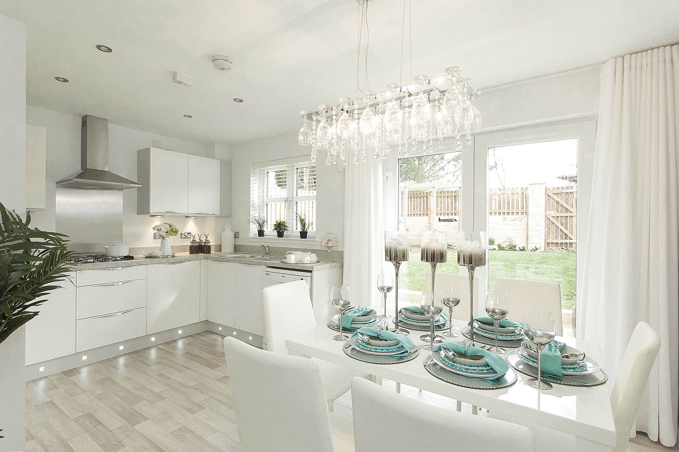 Show home kitchen diner
