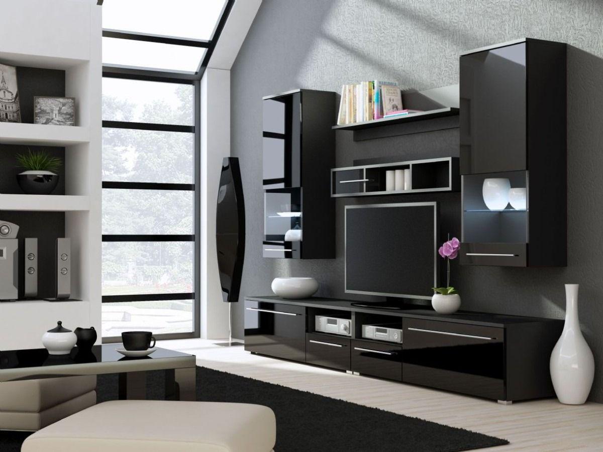 11 Best Muebles Salón Muebles Modernos Tv Images On Pinterest Awesome Glass Showcase Designs For Living Room Inspiration Design