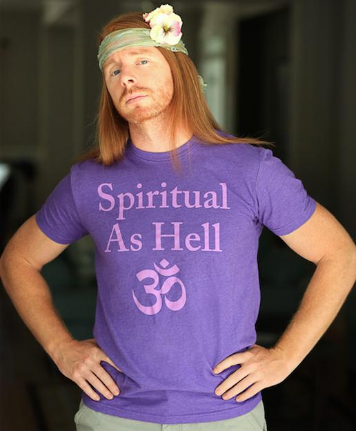 5d11fc22 JP Sears, Spiritual as hell. | Hilarity | Yoga jokes, Spirituality ...