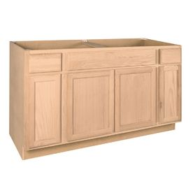 Shop Project Source 60-in W x 35-in H x 23.75-in D Sink ...