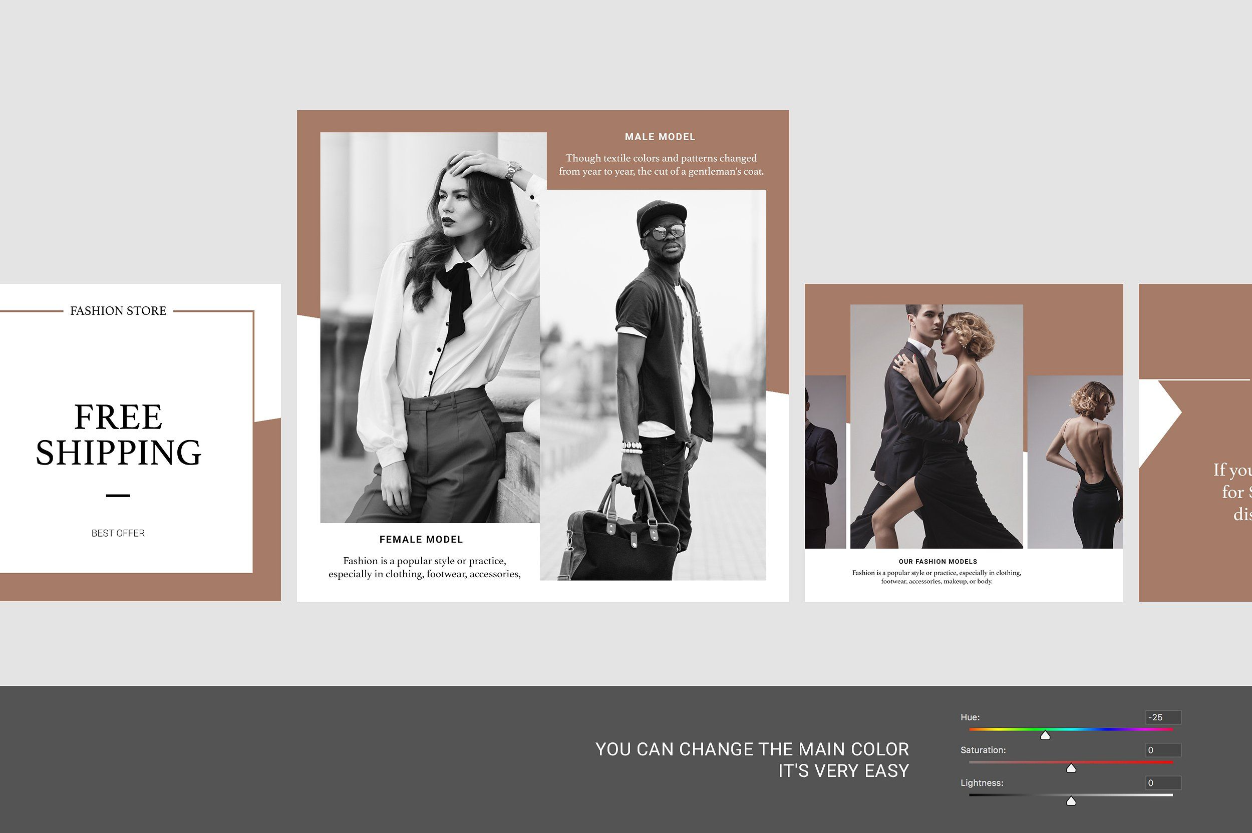 Fashion Shopping Instagram Template Instagram template