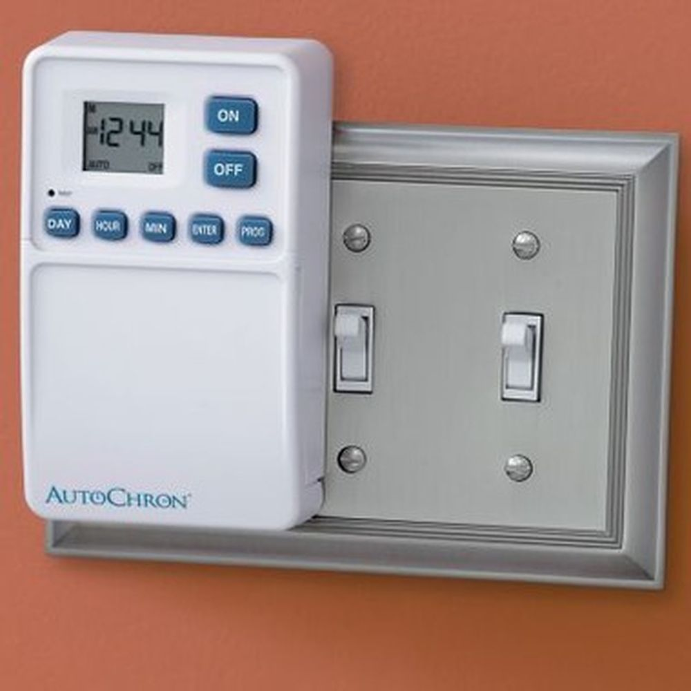 Automatic Wall Switch Timer Skymallnow Theres A For Toggle Light Wiring House Switches The Requires No