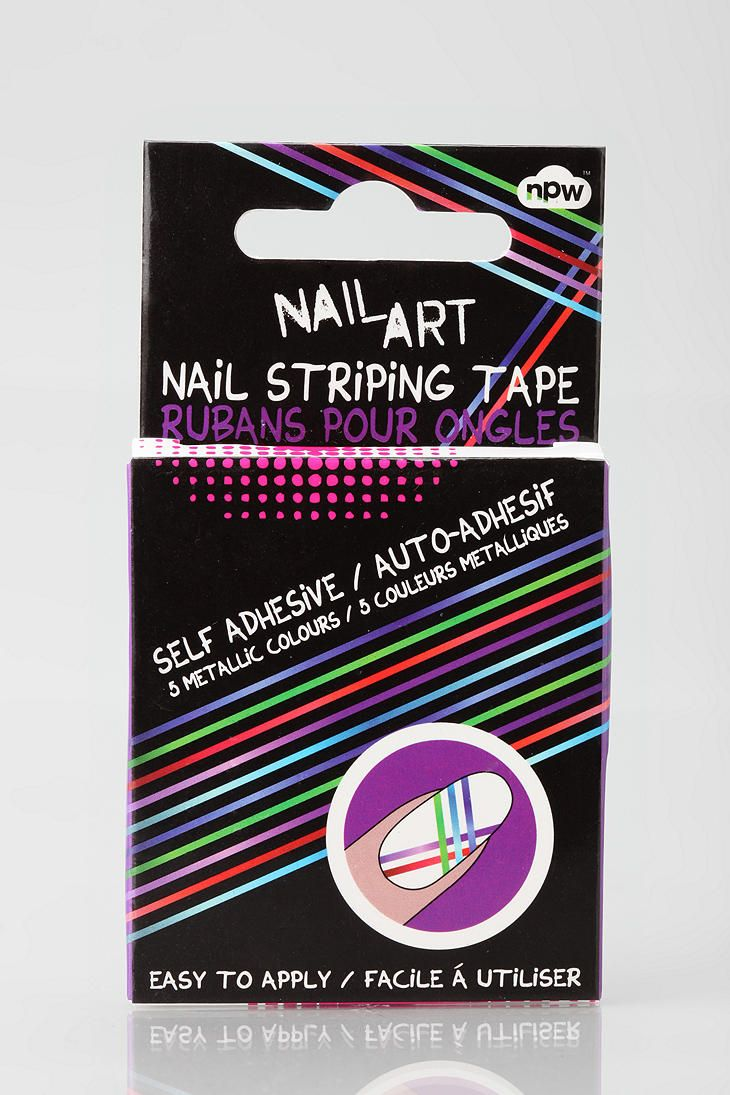 Npw Nail Art Striping Tape Nails Pinterest Striping Tape
