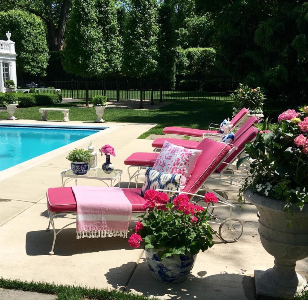 Spotlight On Palm Springs Style Outdoor Areas: In Good Taste: Shelley Johnstone Design