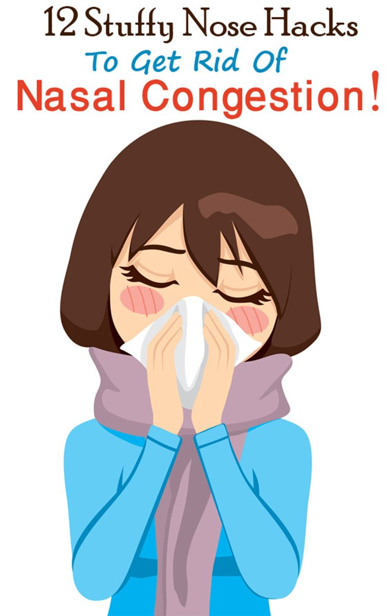 stuffy nose hacks to cure nasal congestion | hacks | pinterest