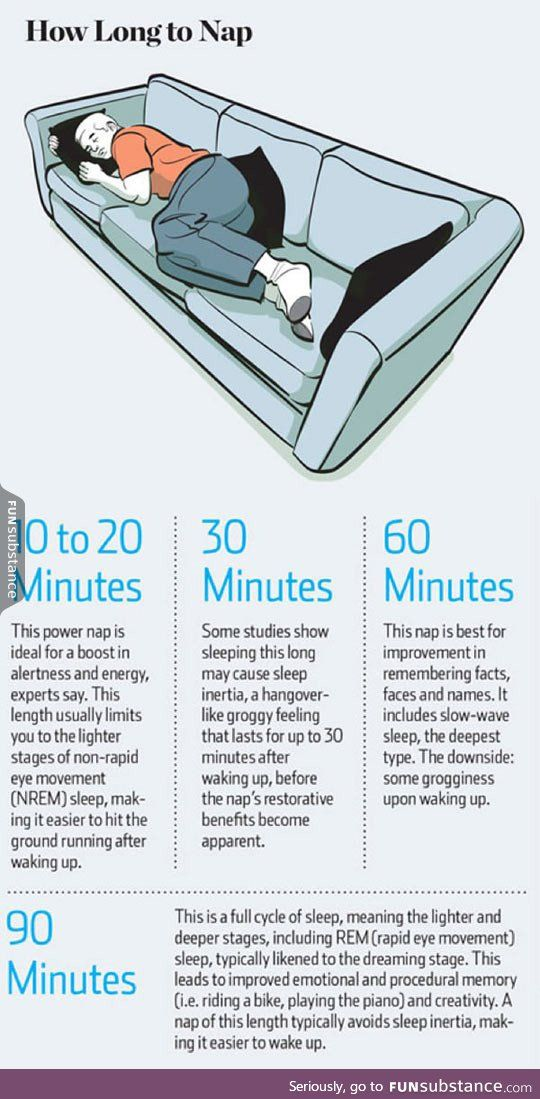 How long to nap for the biggest brain benefits - FunSubstance