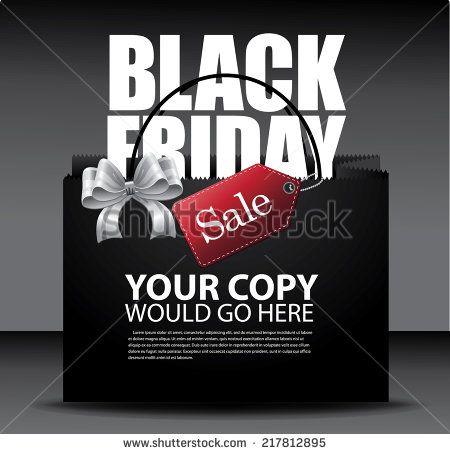 Black Friday sale design Eps10 vector - stock vector