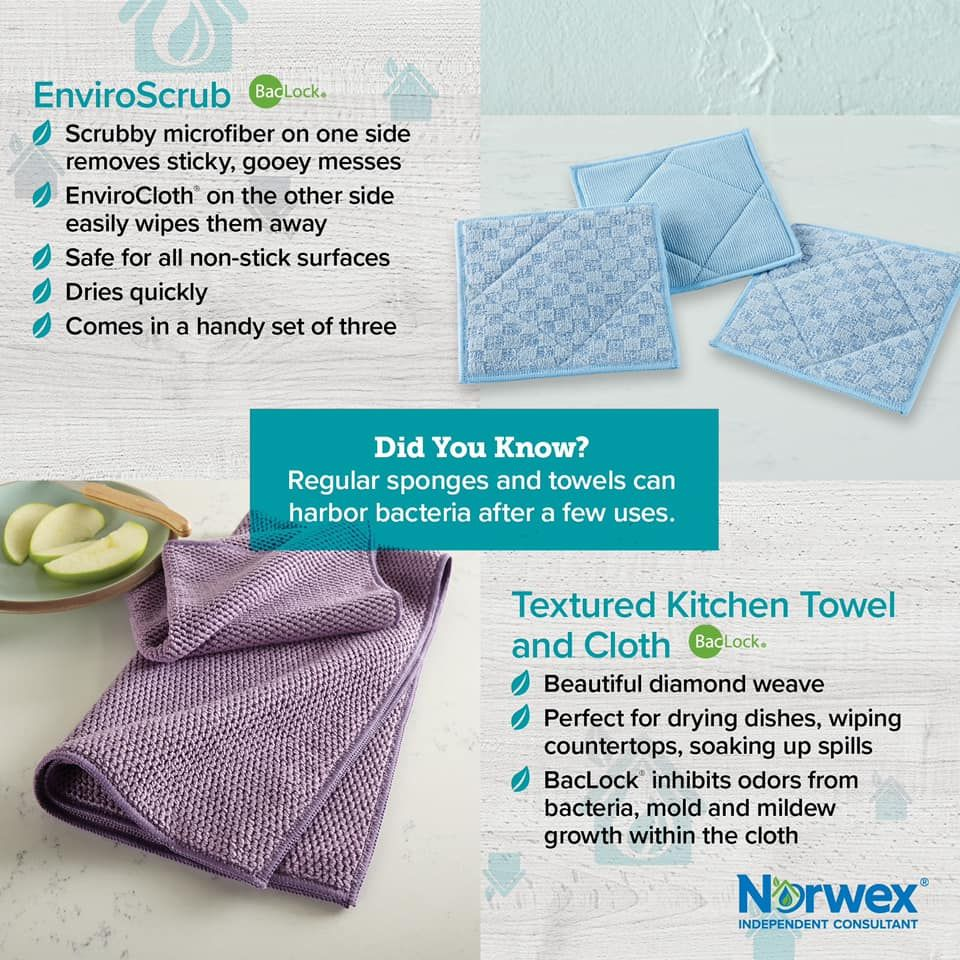 Enviroscrub And Kitchen Cloth And Towel Norwex Norwex Cloths