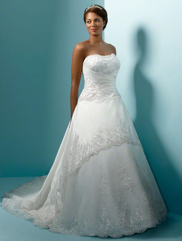 Alfred Angelo Plus Size Wedding Dresses Style 1153w Wedding