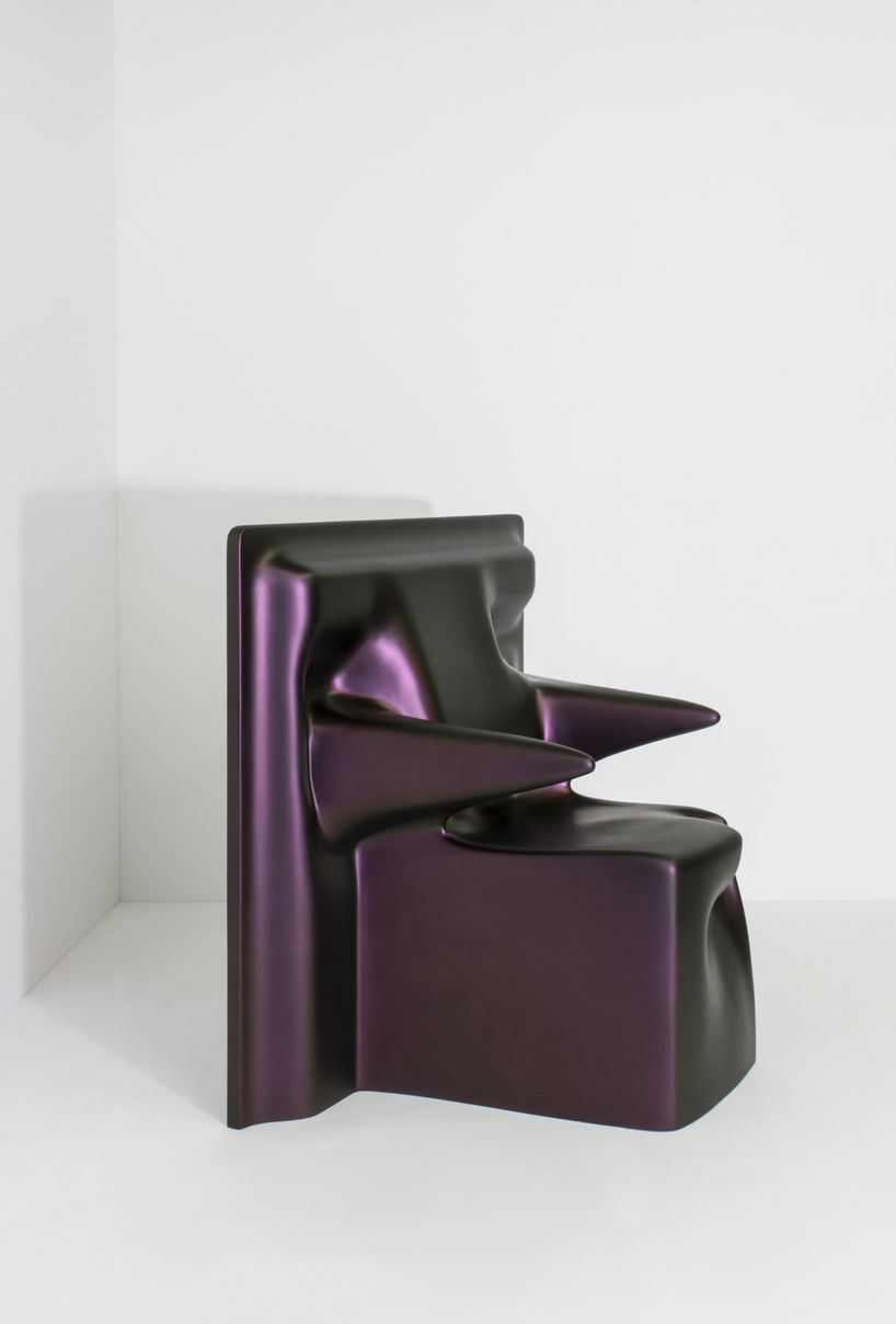 Amazing Christopher Stuartu0027s Drape Chair Is Digitally Designed Using A Cad Software  That Simulates Real Fabric Ideas