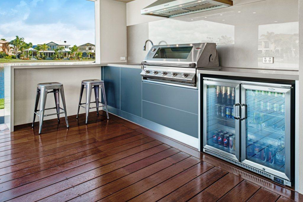 outdoor kitchens bbq amp built melbourne designs patio smoker ...