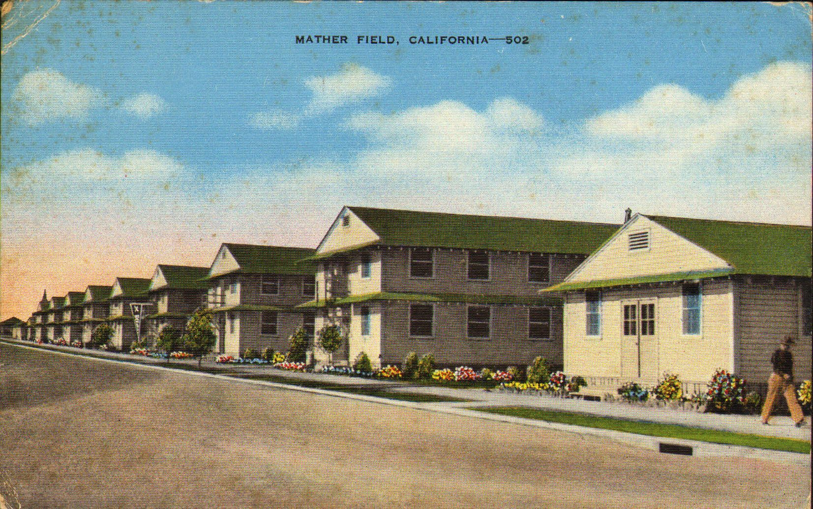 Mather Air Force Base is a closed United States Air Force Base located 12 miles east of Sacramento, in the present-day city of Rancho Cordova on the south side of U.S. Route 50 in Sacramento County, California.