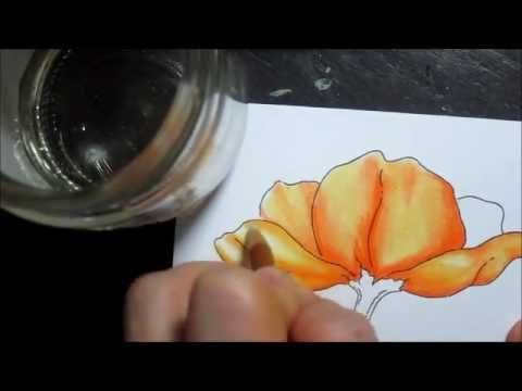 Pencil Blending Tutorial Blending Colored Pencils Color Pencil
