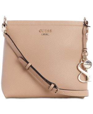 c4a1006d7ca4 Guess West Side Society Crossbody - Tan Beige West Side