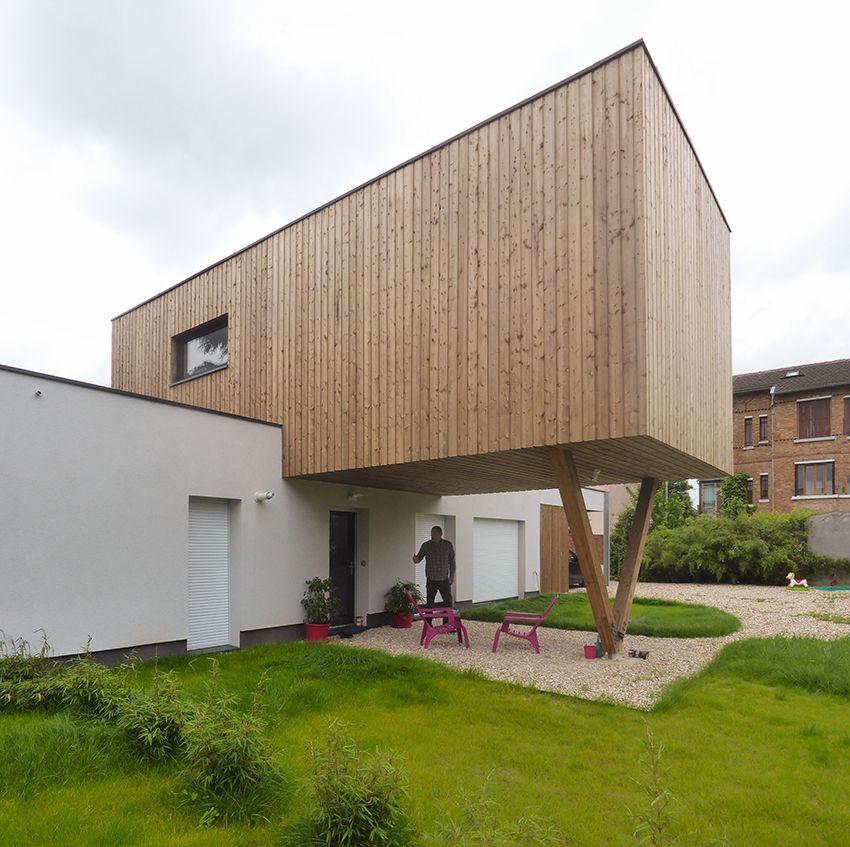 Le projet consiste en la création de 2 maisons individuelles d\u0027une