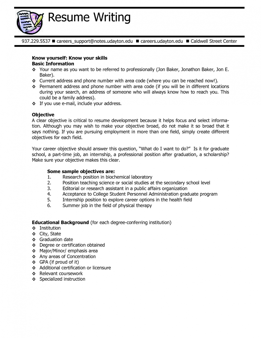 Omo Alata  College Application Resume Sample