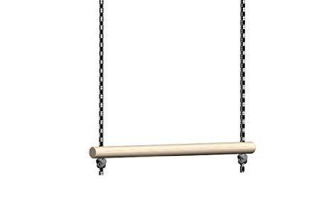 Trapeze Bar For Swing Set Without Rings Bar Length 28 Cm For