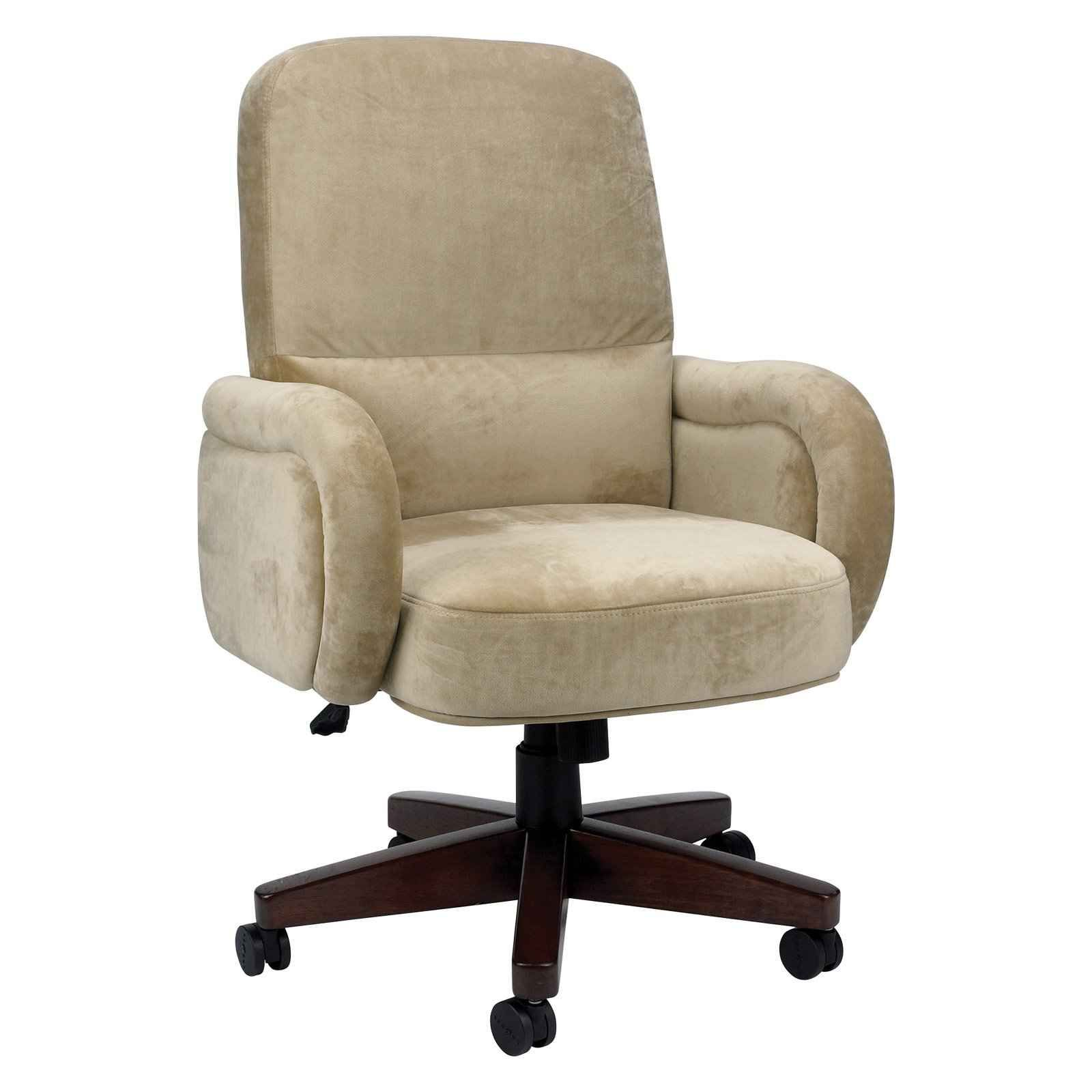 Boulder Luxury Microsuede Executive Office Chair From La Z Boy Home Office Furniture Sets Best Computer Chairs Executive Office Chairs