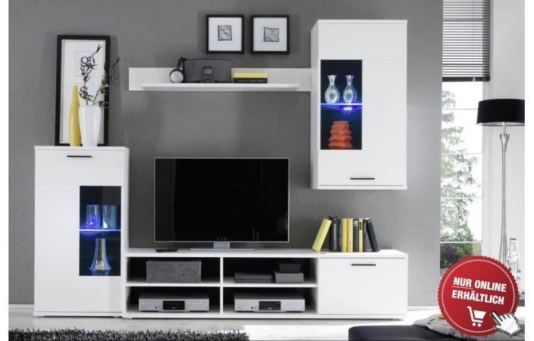 Wohnwand Frontal Online Bei Poco Kaufen Wohnzimmerschranke