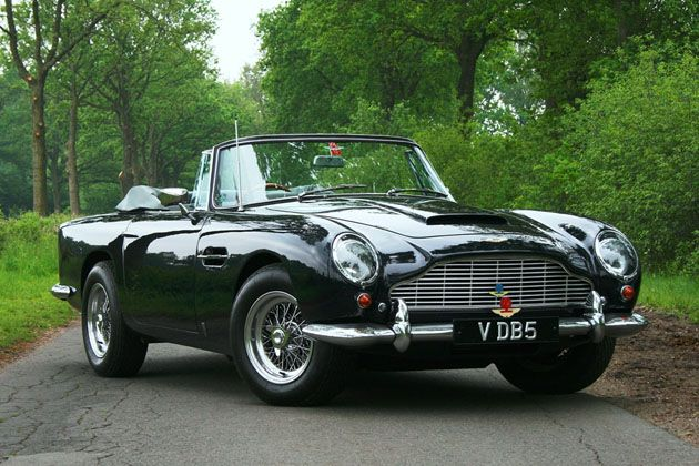Rare Aston Martin DB5 convertible drives 56 Million in sales at