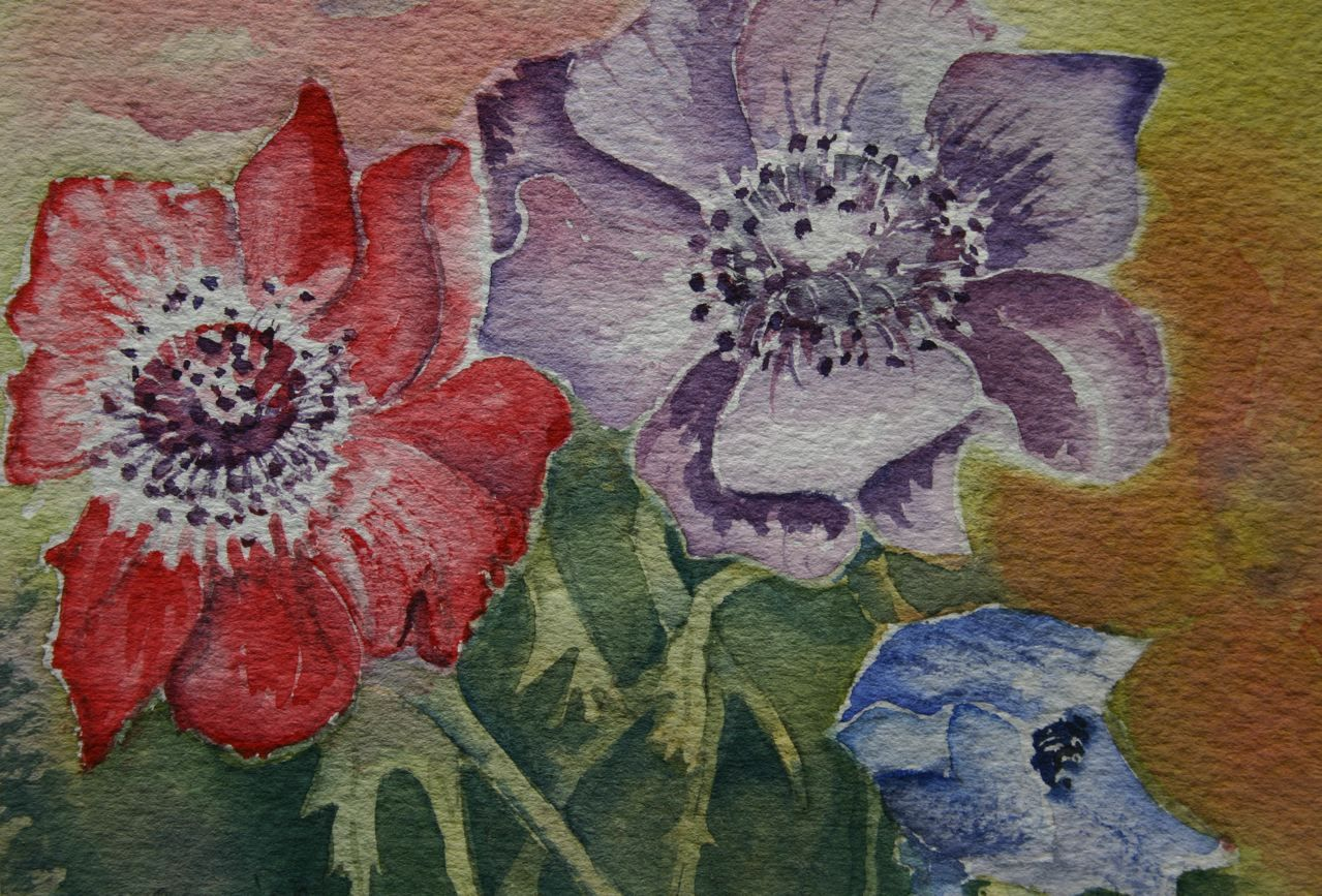 Fine Water Colours | Marina T. v. Berkhout » Flowers