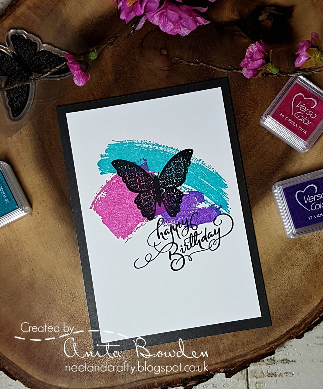 Hi there   I'm super happy to be your designer over at Muse  this week.   I decided to go with a purely stamped card this time. No complica...