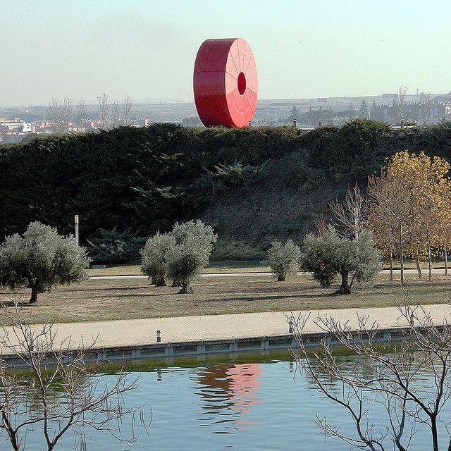 Espacio México Senda De Las Esculturas Parque Juan Carlos I Madrid Best Cities Natural Park