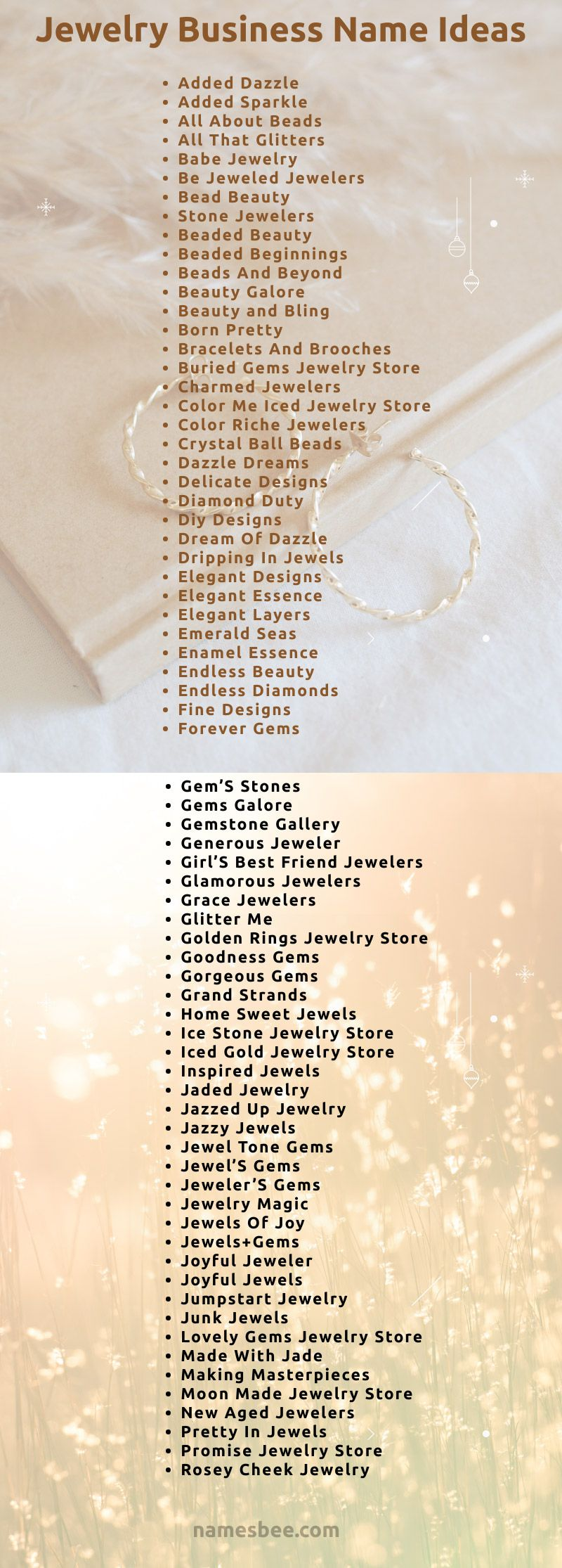 40++ Unique names for jewelry business information