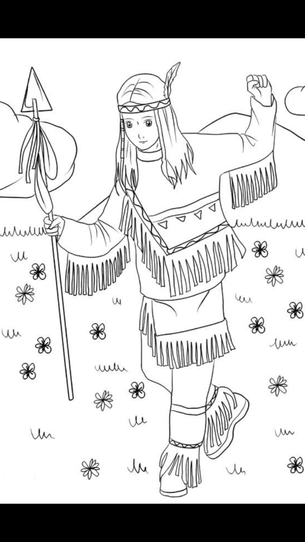 Pin Von Tabea Kimmich Auf Native Things Indianer Madchen Indianer Zeichnung
