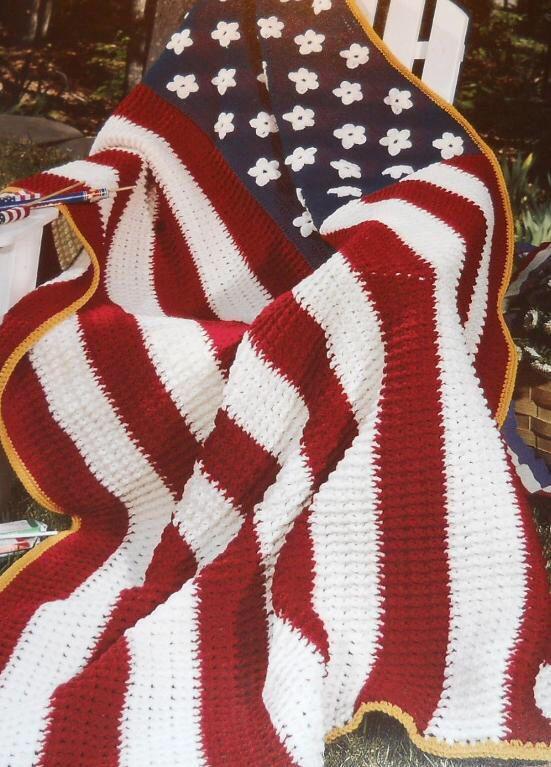 American flag crochet | for my babes | Pinterest