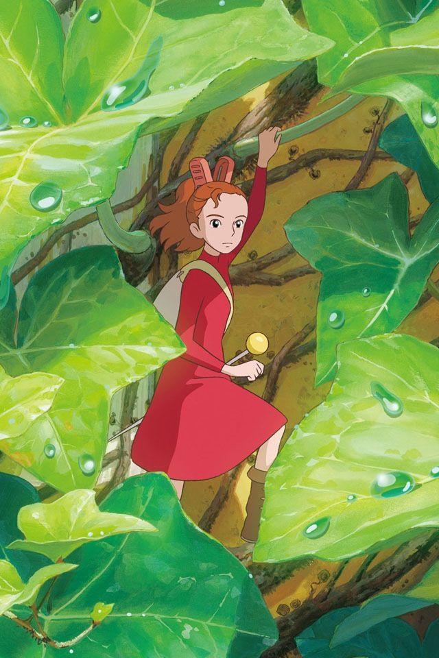 The Secret World Of Arrietty ジブリ イラスト スタジオジブリ 宮崎駿