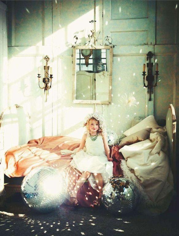 disco balls | girls room