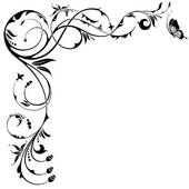 scroll clip art borders free border illustrations and clipart rh pinterest com