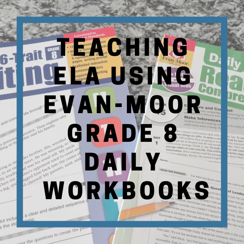 Jan 13 Teaching ELA using Evan-Moor Grade 8 Daily Workbooks