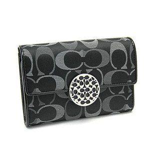 Coach Alexandra Signature Compact Clutch Wallet Purse - Black Multi Coach, http://www.amazon.com/dp/B0081JXU1I/ref=cm_sw_r_pi_dp_tAJWpb1V5PAS3