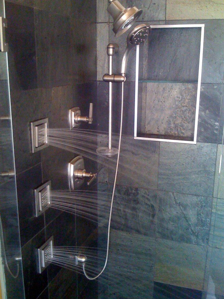 Shower With Images Custom Shower Bathroom Improvements