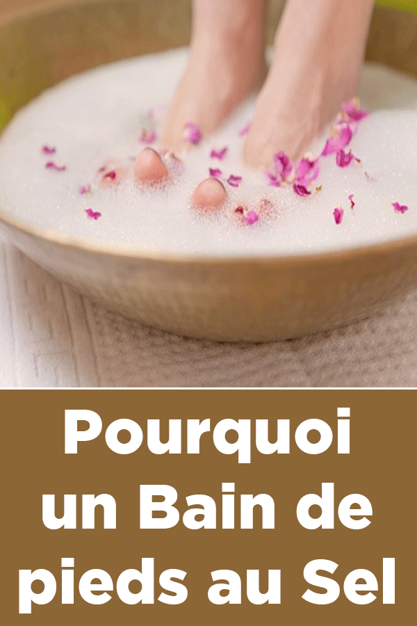 Bain De Pied Au Gros Sel : Pourquoi, Pieds, Desserts,, Food,, Condiments