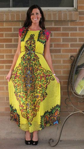 Mintzita maxi dress anthropologie