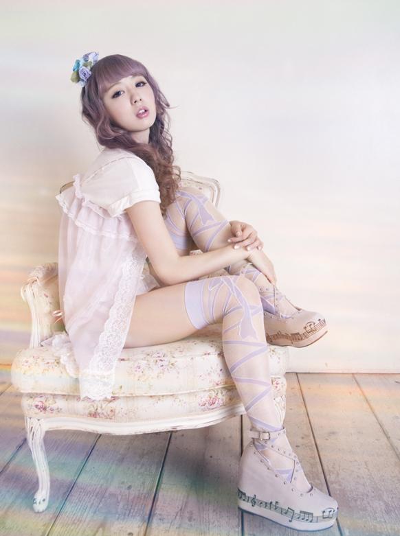 LS Lolita17&little lolita models nylons
