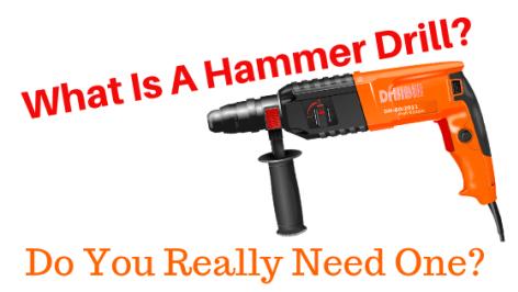 What Is A Hammer Drill Hammer Drill Drill Hammer Drill Bits