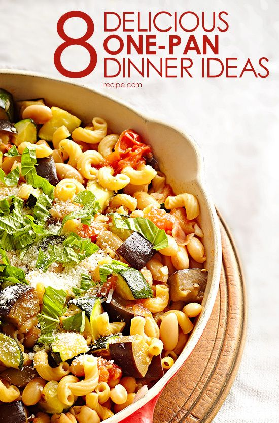 8 Delicious One-Pan Dinner Ideas