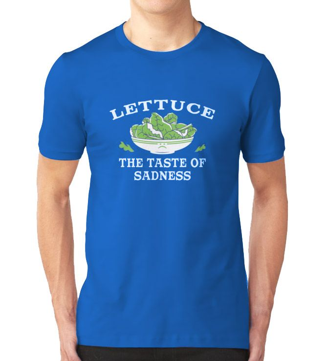 ada2f1b31 Tom Holland Lettuce The Taste of Sadness T Shirt | The Marvel Bunch ...