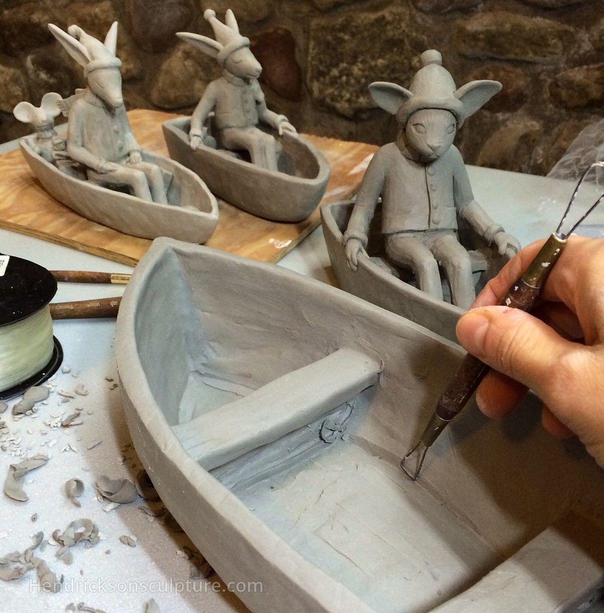Carrianne hendrickson usa contemporary clay sculpture