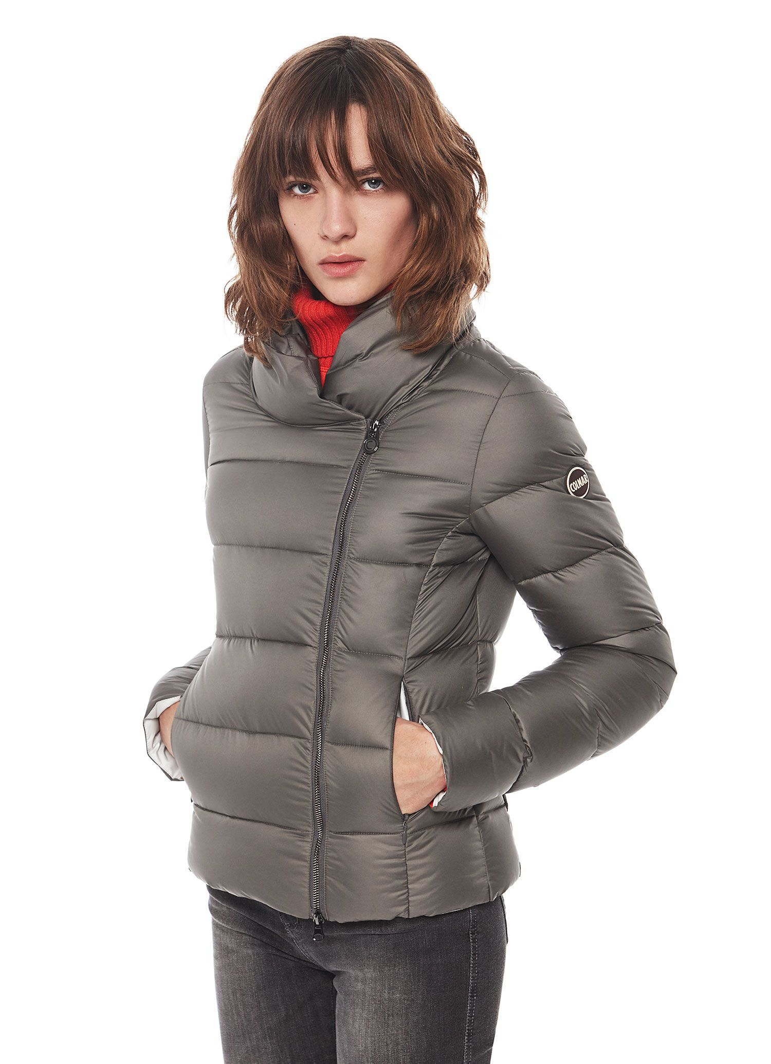 Colmar Originals women's jacket with a soft, shawl neck and double ...