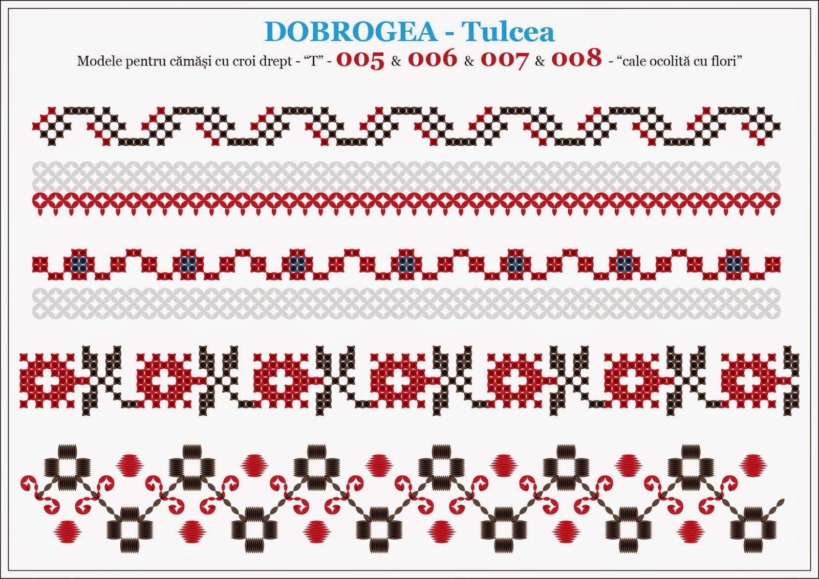 Semne Cusute: modele pentru camasi - DOBROGEA - Tulcea   cusaturi ...