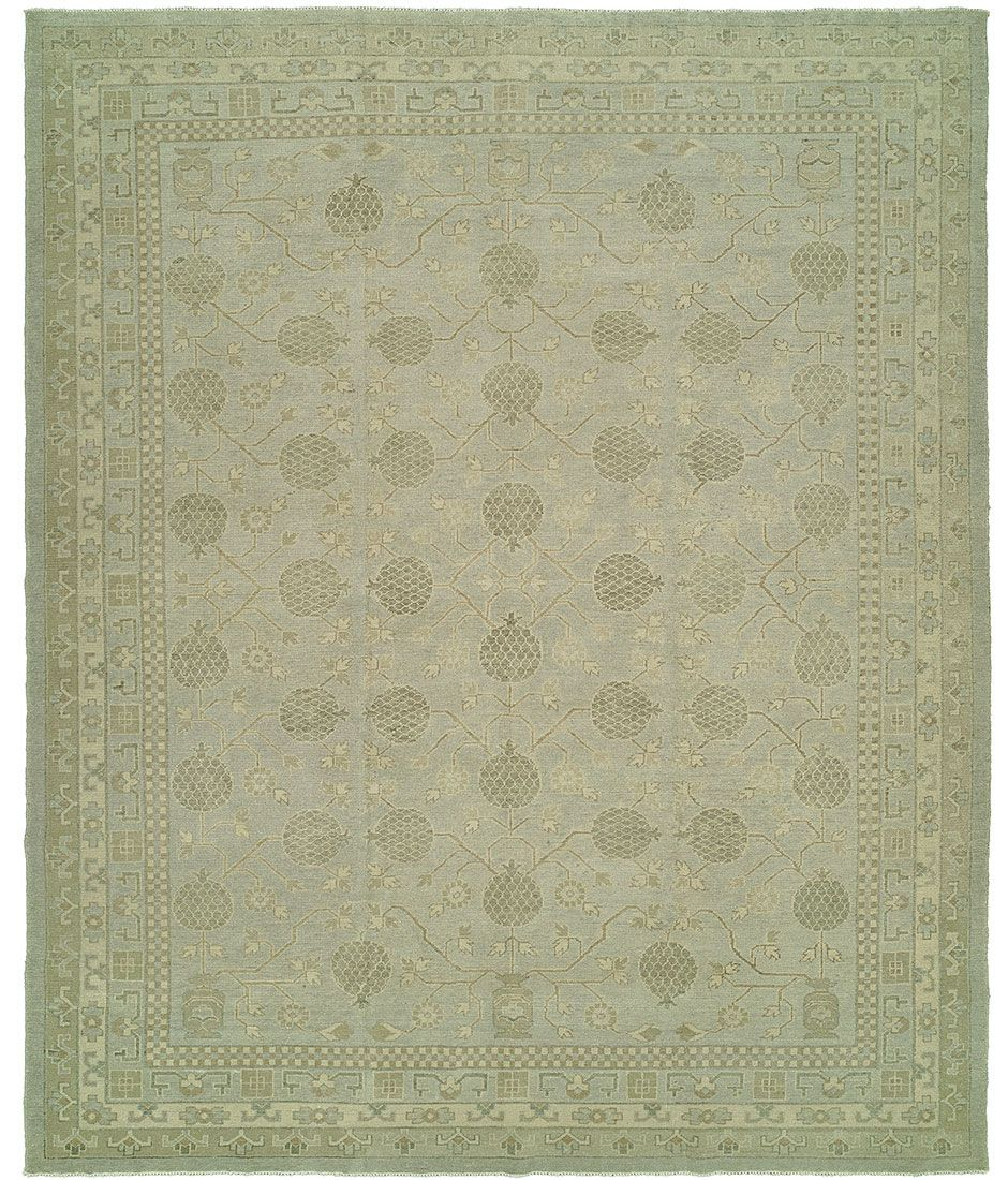 Anatolian collection design silver hri rugs harounian